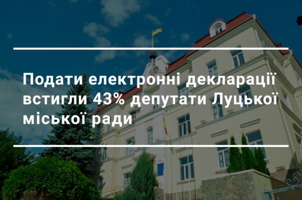 Десятки земельних ділянок і мільйони готівки: що задекларували депутати Луцькради за 2019 рік?