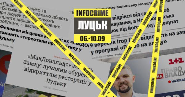 Маніпуляції в текстах і заголовках та джинса: дайджест INFOCRIME Lutsk